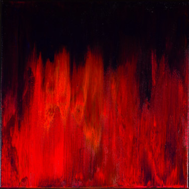 Vibrant Flames #1944 Ready to hang-Free shipping