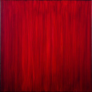 Simply Red (Ready to hang-Free shipping)