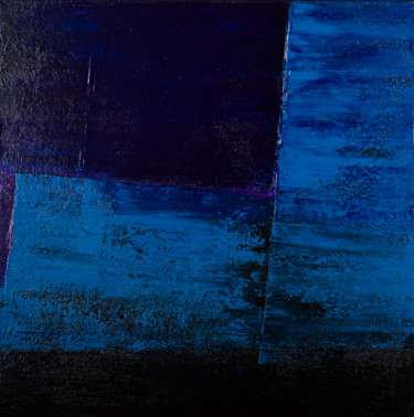 Into Blue #1981 Ready to hang-Free shipping