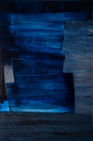 Lost in Blue #1990 Ready to hang - Free shipping