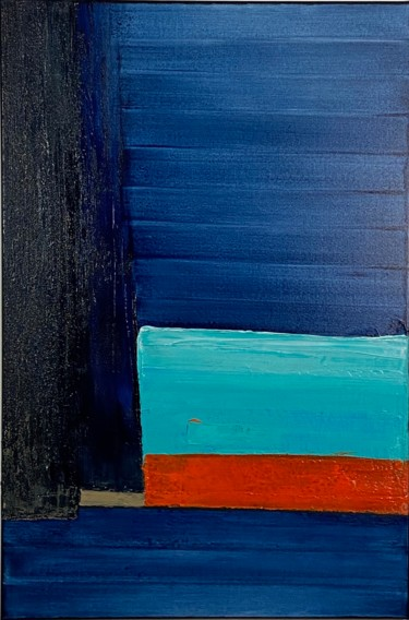 Blue Light 1 / Lumière Bleue 1 Ready to hang - Free shipping