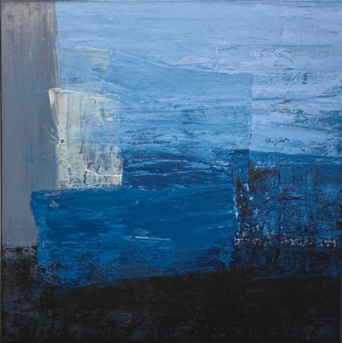 Dive into the Blue 1 (Ready to hang - Free shipping)